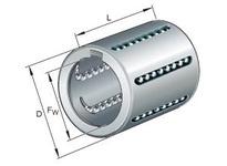 INA KH3050 Linear drawn cup ball bearing