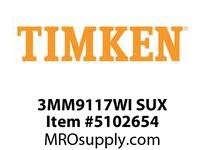 TIMKEN 3MM9117WI SUX Ball P4S Super Precision