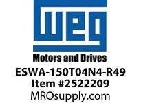 WEG ESWA-150T04N4-R49 FVNR 125HP/460V T-A 4 T04 Panels