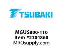 US Tsubaki MGUS800-110 Cam-Overrunning MGUS800 110MM