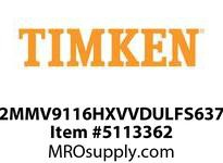 TIMKEN 2MMV9116HXVVDULFS637 Ball High Speed Super Precision