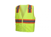 Pyramex RVZ2310XL Hi-viz lime - All mesh - Size Extra Large