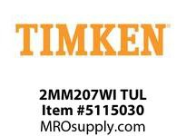 TIMKEN 2MM207WI TUL Ball P4S Super Precision