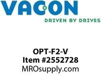 Vacon OPT-F2-V Change from 3xRO to 2xRO + thermistor Option