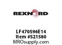 REXNORD LF470596E14 LF4705-96 E14-1/4D 153419