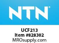 NTN UCF213 Square flanged bearing unit