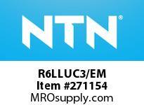 NTN R6LLUC3/EM EXTRA SMALL BB D<10&9<=D<=30