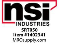 NSI SRT050 1/2 T TAP - WHITE (FITTING FOR TWO PIECE RACEWAY)