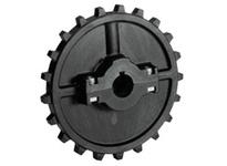 614-63-43 NS7700-21T Thermoplastic Split Sprocket TEETH: 21 BORE: 35mm IDLER