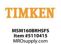 TIMKEN MSM160BRHSFS Split CRB Housed Unit Assembly