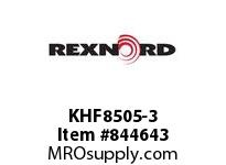 REXNORD KHF8505-3 KHF8505-3 KHF8505 3 INCH WIDE MATTOP CHAIN WI