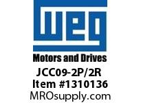 WEG JCC09-2P/2R 4P 9A 2NO 2NC CON CWC AC COIL Contactors