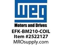 WEG EFK-BM210-COIL COIL ONLY WEG-MADE BRAKE 213/5 Motores