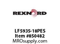 REXNORD LF5935-18PES LF5935-18 PES ROD LF5935 18 INCH WIDE MATTOP CHAIN WI