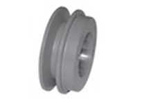 Maska Pulley MBL44 QD BUSH SHEAVE FOR B SECTION BELT GROVES: 1 PITCH DIAMETER: 4.1