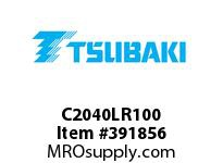 US Tsubaki C2040LR100 C2040 C-LAMBDA CHAIN 100