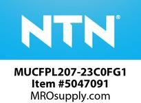NTN MUCFPL207-23C0FG1 BEARING UNITS MOUNTED UNIT - PLASTIC