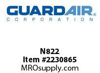 Nordair N822 Standard Cloth Filter Assembly For