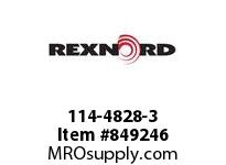 REXNORD 114-4828-3 KU8500-29T 1-1/2 SQ NYL KU8500-29T SOLID SPROCKET WITH 1-1/