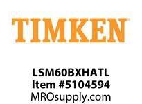TIMKEN LSM60BXHATL Split CRB Housed Unit Assembly