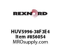 REXNORD HUV5996-38F3E4 HUV5996-38 F3 T4P N4 HUV5996 38 INCH WIDE MATTOP CHAIN W