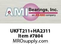 AMI UKFT211+HA2311 1-15/16 NORMAL WIDE ADAPTER 2-BOLT