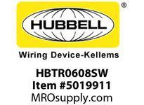HBL_WDK HBTR0608SW WBPRFRM RADI 90 6Hx8W PREGALVSTLWLL