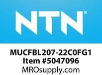 NTN MUCFBL207-22C0FG1 BEARING UNITS MOUNTED UNIT - PLASTIC