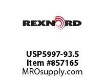 REXNORD USP5997-93.5 USP5997-93.5 USP5997 93.5 INCH WIDE MATTOP CHAIN