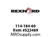 REXNORD 114-184-60 KU815-25T 1-1/4 KW&SS 141908