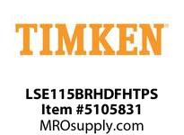 TIMKEN LSE115BRHDFHTPS Split CRB Housed Unit Assembly
