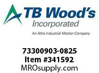 TBWOODS 73300903-0825 73300903-0825 13S M-SF CPLG