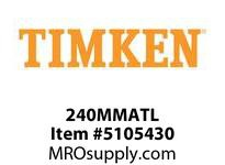 TIMKEN 240MMATL Split CRB Housed Unit Component