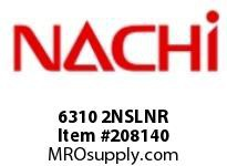6310 2NSLNR TYPE: SEALED W/ SNAP RING BORE: 50 MILLIMETERS OUTER DIAMETER: 110 MILLIMETERS