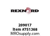 REXNORD 209017 595108 425.S71-8.HUB STR