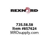 REXNORD 735.58.58 COMBI-A 90DEG 1LN 750MM CORNER TRACK COMBI-A 90 DEGREES 1 L