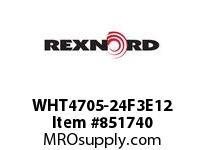 REXNORD WHT4705-24F3E12 WHT4705-24 F3 T12P WHT4705 24 INCH WIDE MATTOP CHAIN W