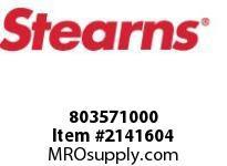 STEARNS 803571000 BRK SHAFT-1.38D X 7.63 LG 8036154