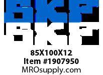 SKFSEAL 85X100X12 CRSA12 R SMALL BORE SEALS