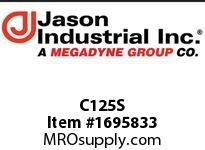 Jason C125S PART C 1-1/4in.C SS COUPLER x SHANK