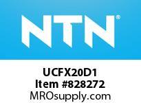 NTN UCFX20D1 MOUNTED UNIT (CAST IRON)