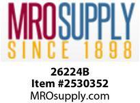 MRO 26224B 1/4OD X 1/8MIP ELBOW W/26003 (Package of 4)
