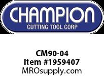 Champion CM90-04 DEMO 1-1/8^ ASPHALT CUTTER 5X20