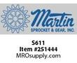 S611 Degree: 14-1/2 Steel Spur Gear