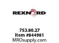 REXNORD 753.80.27 MHI OH 30MM PLAIN HUB SET