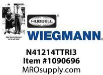 WIEGMANN N41214TTRI3 TAMPERPROOFTRIANGLERKL3PT