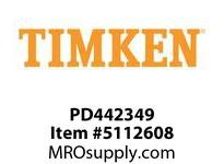 TIMKEN PD442349 Power Lubricator or Accessory