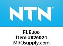 NTN FLE206 Bearing Units - Cast Housing