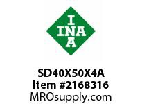 INA SD40X50X4A Seal double lip