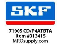 SKF-Bearing 71905 CD/P4ATBTA